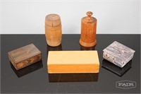 Collection of Small Containers