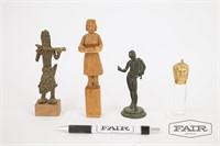 4 Small Figurines