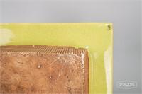 Elegant Green Art Pottery by Barbara Willis