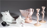 From a Maryland private collection of milk glass and Cambridge Crown Tuscan