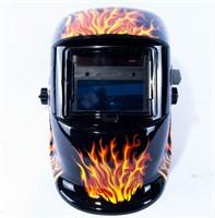 Fantastisk Elektronisk svejsehjelm med flamme motiv | Campen Auktioner A/S BD05