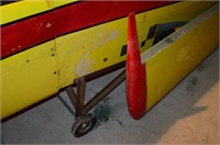 Sirocco Aircraft Frame and Tail Feathers