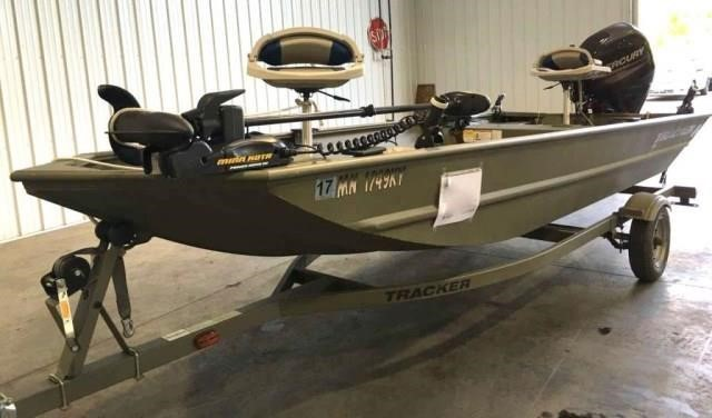 2012 Tracker Panfish Grizzly 1648 16' Boat | Apple Towing Co