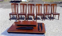 Dining Table With 6 Matching Chairs