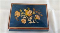 Made In Italy Inlaid Musical Jewelry Box