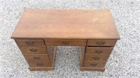 Small Desk Or Make Up Vanity. 9 Drawers For