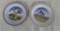 2 Royal Copenhagen Plates From Denmark