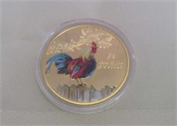 2017 Year Of The Chicken Commemorative Coin