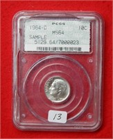 Online Only Slabbed Coin Auction