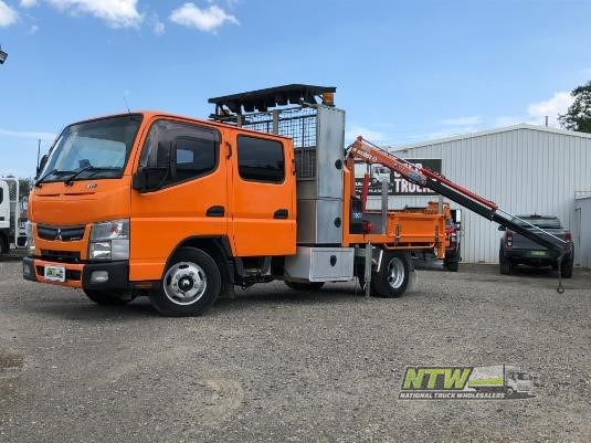 2012 Fuso Canter 515 Crew Cab National Truck Wholesalers Pty Ltd - Trucks for Sale