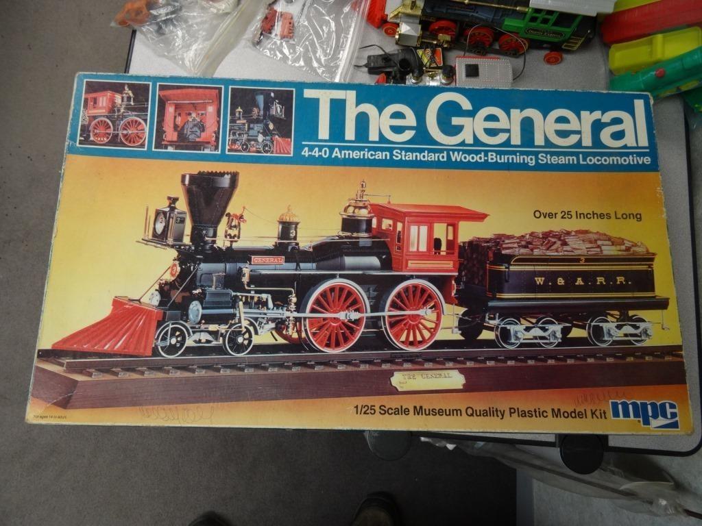 Mpc The General Locomotive Model Kit Jones Auction Realty