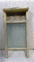 Antique Baby Globe Washboard
