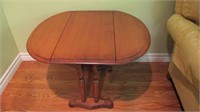 "Drop Leaf Maple Table Open 26x28x22"" Tall"