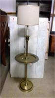 Brass Table Floor Lamp