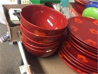 Plates & bowls, some bowls have chips