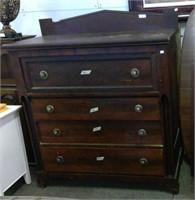 Antique 4 Drawer Dresser