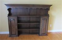 """Wood Shelf  Display  60"""" X 50 """" Tall"""