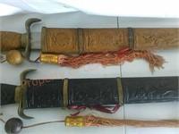 Decorative swords