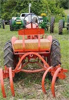 Allis Chalmers B Tractor With Cultivator | W  Yoder Auction LLC
