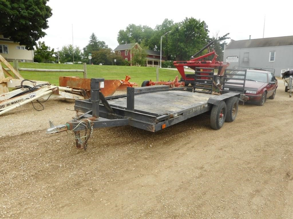 Homemade Trailer Ramp 17FT x 75