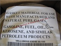 Roll of gasket material 45