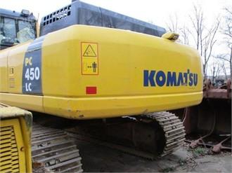 KOMATSU PC450 LC-8