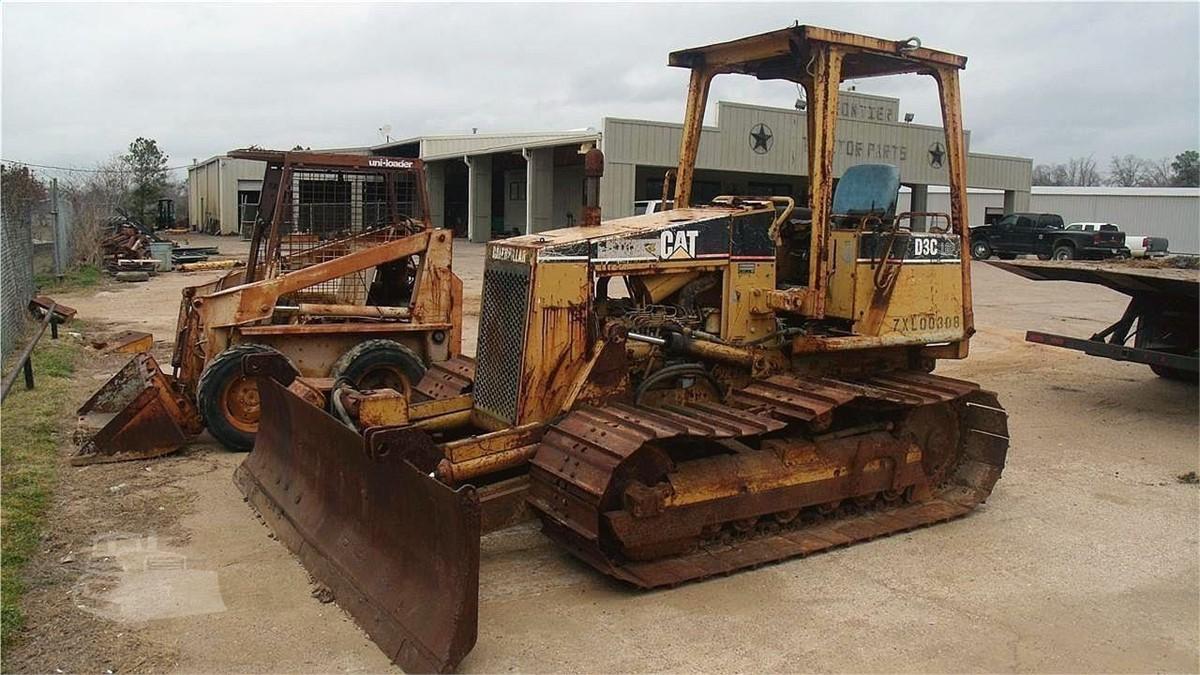 Machinerytrader Com Cat D3c Lgp Iii Dismantled Machines