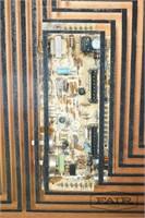 1980's Computer hardware wall hanging art