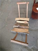 Plant stand and log caddy