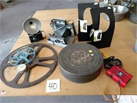 Cameras and Film Canisters and Reels