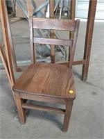 Headboard and chair