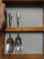 Silverware and Coffee Pot