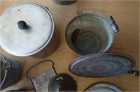 Pans and pails
