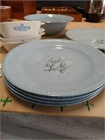 Dishes and butter dish