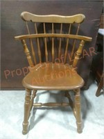 Vintage Barrel Back Chair