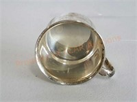 Baby Cup and Spoon Sterling Silver