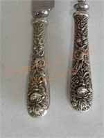 1930'S S.Kirk & Sons Sterling Silver Carving Set