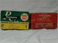 Vintage Shotgun Shell Boxes