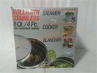 Stainless Steel 8Qt Multi-Purpose Cooker