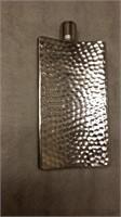 #1 Vintage Hammered Curved  Hip Flask $30.00