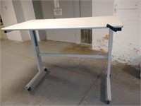 #46 Adjustable 5' Table with Crank Arm $30.00