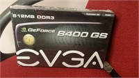 #74 EVGA GeForce 8400 PCI Graphics Card (Set of 3 Cards) $45.00