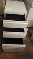 #79 3-Drawer Vertical Cabinet $15.00