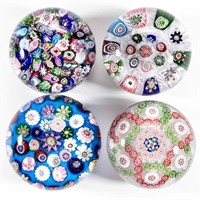 Selection of Antique Paperweights from the Sussel Collection, including Bacarrat, Clichy, New England, and Sandwich.