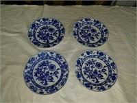 Meissen blue onion dishes