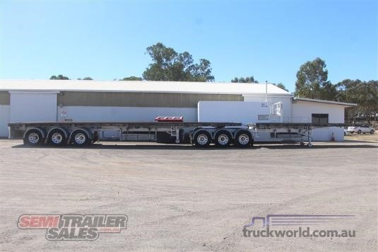 2013 Vawdrey B Double Flat Top Trailers - Trailers for Sale
