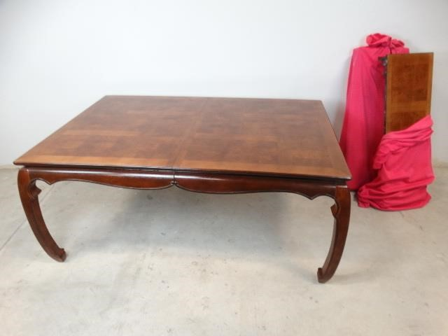 Asian Inspired Dining Table Ll Auctions Llc