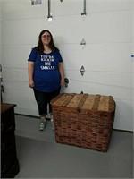 Large antique basket