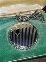 Elgin antique White open face pocket watch