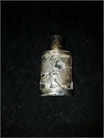 Beautiful vintage sterling silver overlay perfume